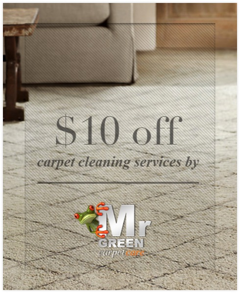 Home Carpet Cleaning $10 Off Coupon