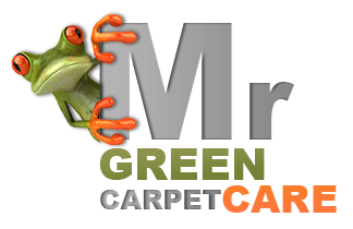Mr. Green Carpet Care Retina Logo