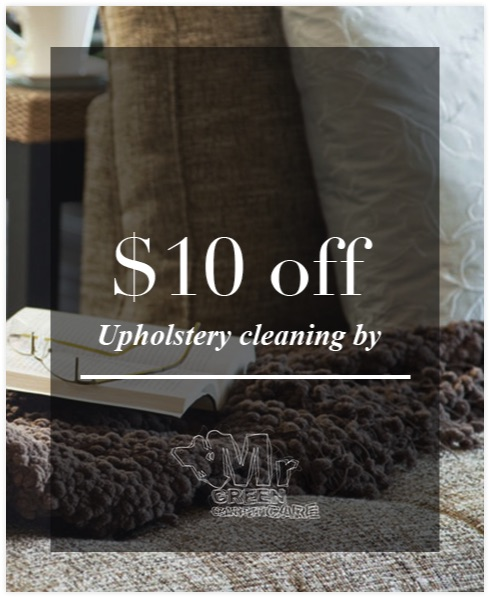 Upholstery cleaning $10 OFF