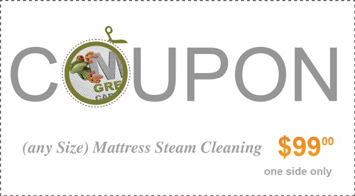 $99 mattress cleaning coupon